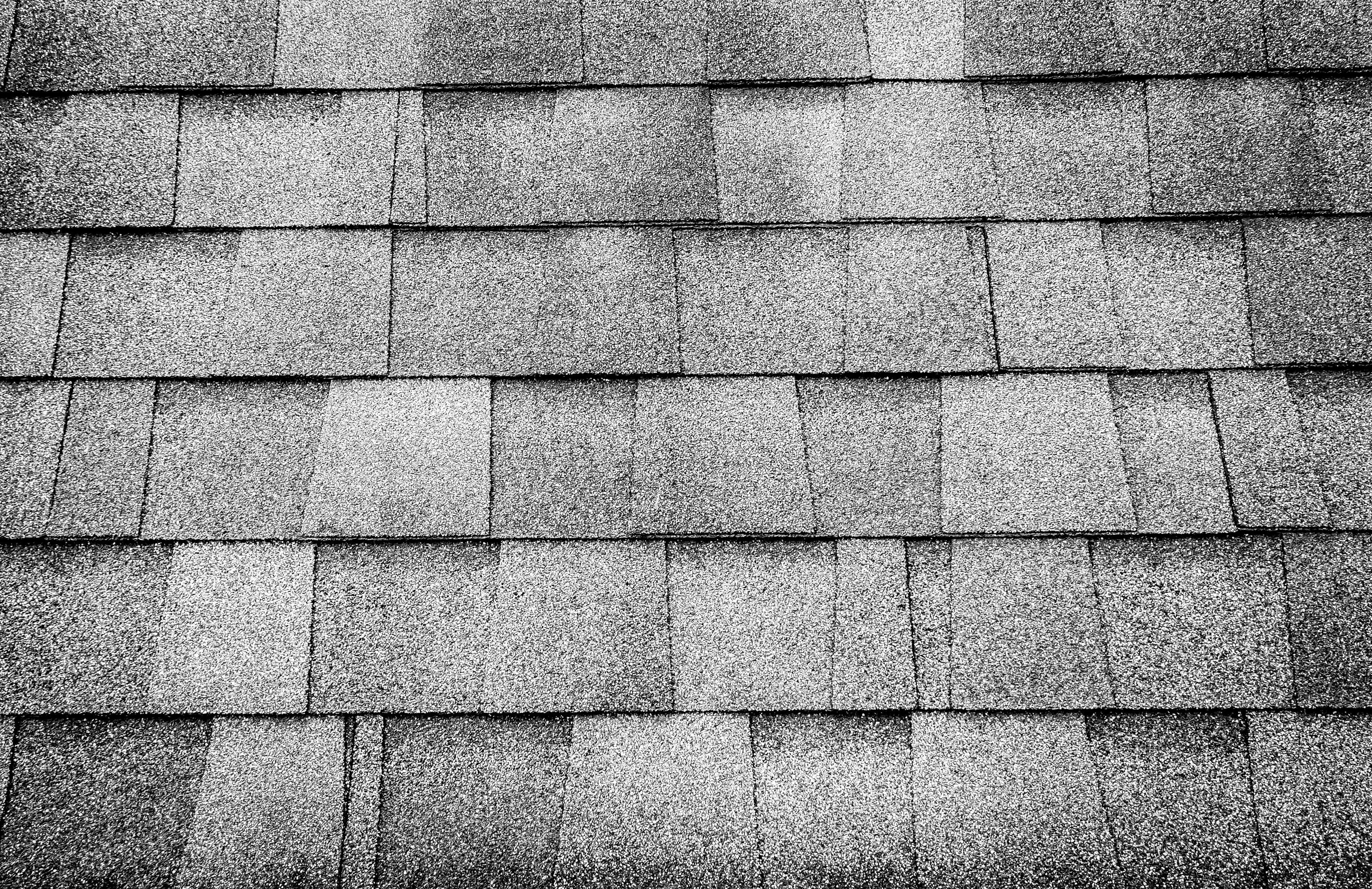 41205319 Black And White Photo Close Up Roof Tile