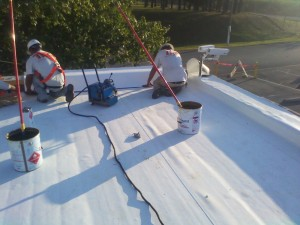 Tennessee Roofing and Construction - Industrial Roofing - Huber Quality Control Lab, Etowah, Tennessee